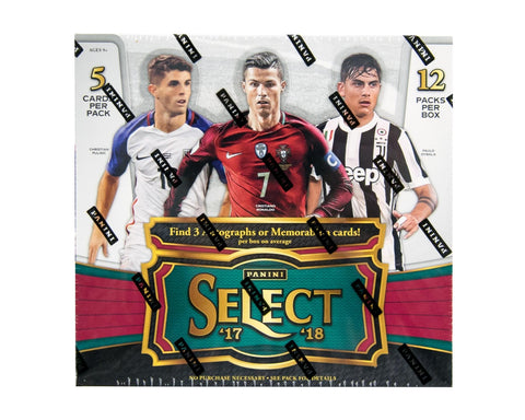 2017-18 Panini Select Soccer Hobby Box