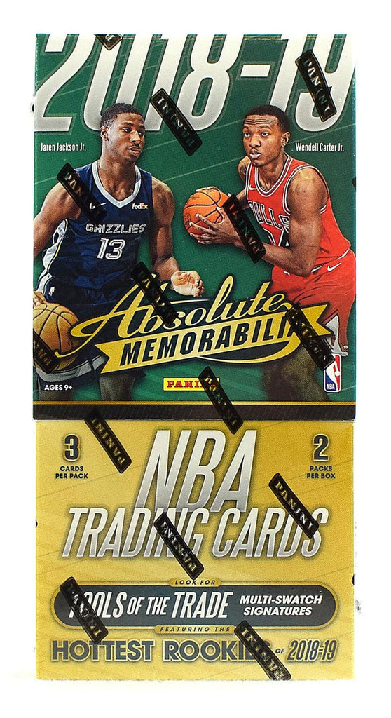 2018-19 Panini Absolute Memorabilia Basketball Hobby Box