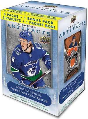 2018-19 Upper Deck Artifacts Hockey Blaster Box
