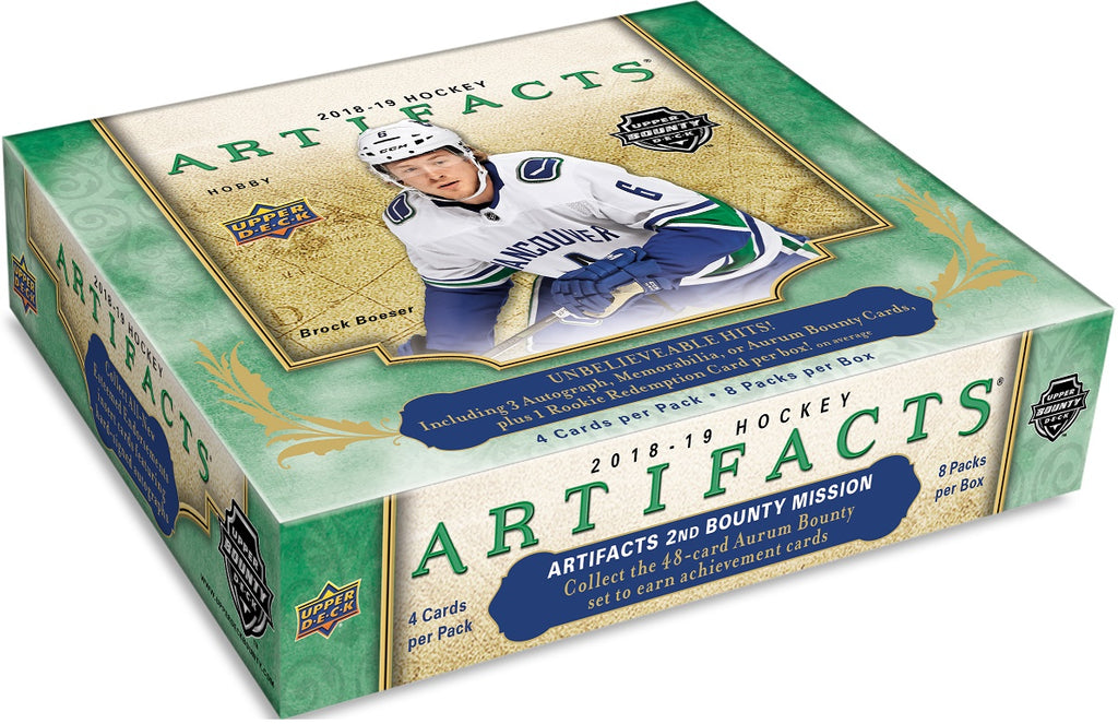 2018-19 Upper Deck Artifacts Hockey Hobby Box