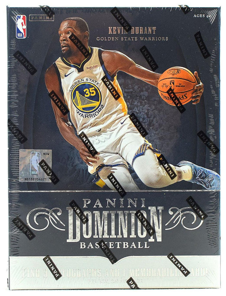 2018-19 Panini Dominion Basketball Hobby Box