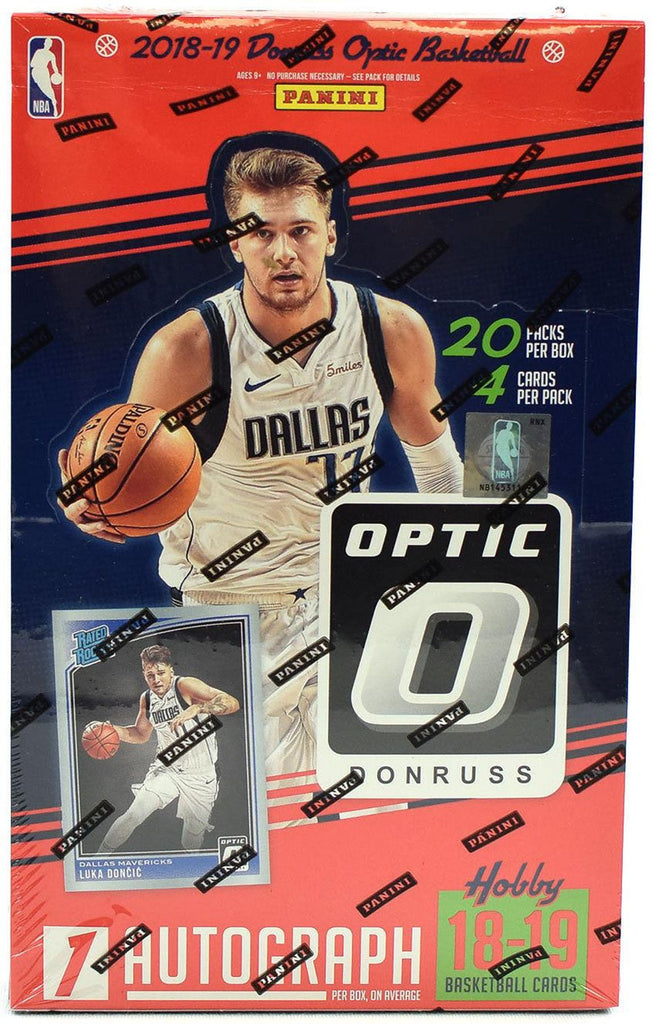 2018-19 Panini Donruss Optic Basketball Hobby Box