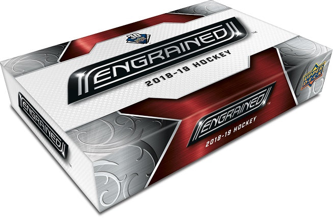 2018-19 Upper Deck UD Engrained Hockey Hobby Box