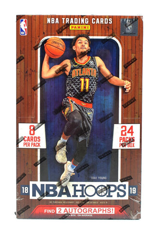 2018-19 Panini Hoops NBA Basketball Hobby Box
