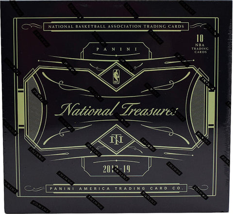 2018-19 Panini National Treasures Basketball Hobby Box