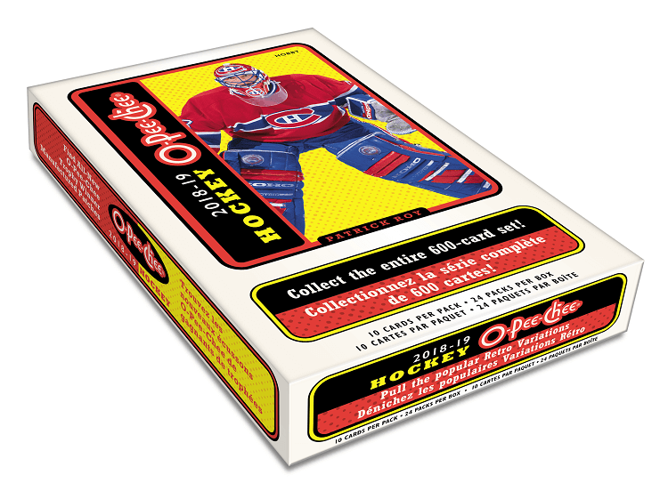 2018-19 Upper Deck O-Pee-Chee Hockey Hobby Box