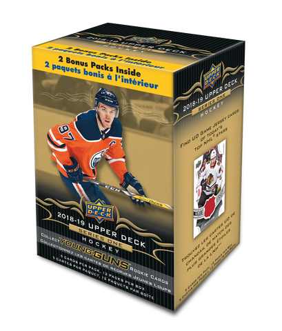 2018-19 Upper Deck Series 1 Hockey Blaster Box
