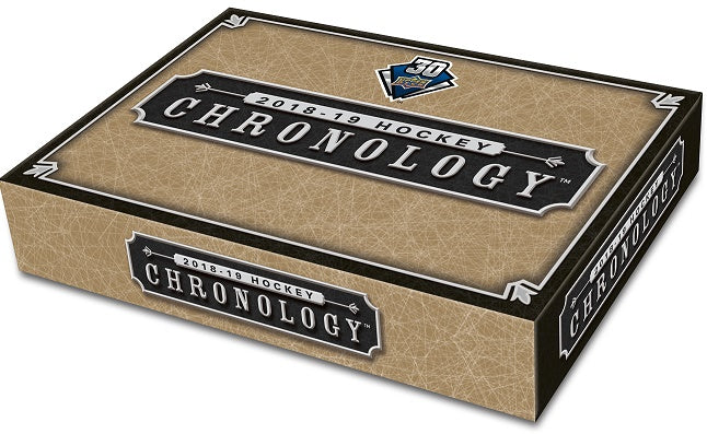 2018-19 Upper Deck UD Chronology Volume 1 Hockey Hobby Box (Pre-Sell)