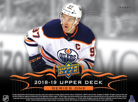 Group Break#823- 1/2 CASE (6 Boxes) 2018-19 Upper Deck S1 TEAM SELECT+FREE SPOTS IN BREAK#737+BGS9.5 McDAVID YG BONUS