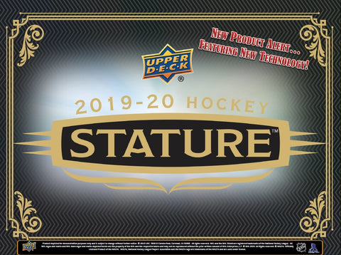 Group Break #1326- 1 MASTER CASE (24 Boxes) 2019-20 UPPER DECK STATURE PYT+WIN $100 GB CREDIT