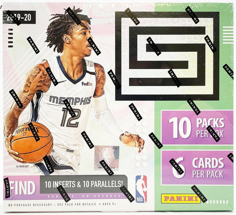 2019-20 Panini Status T-Mall Edition Basketball Hobby Box