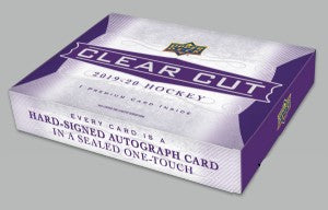 2019-20 Upper Deck Clear Cut Hobby Hockey Box