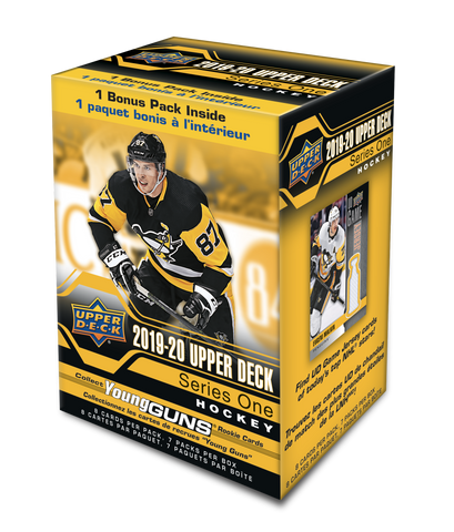 2019-20 Upper Deck Series 1 Hockey Blaster Box