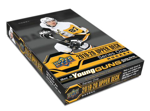 2019-20 Upper Deck Series 1 Hockey Hobby Box