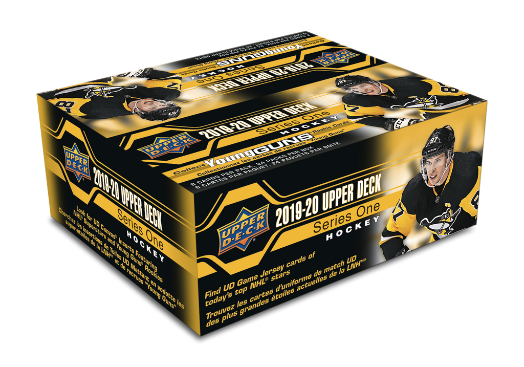 2019-20 Upper Deck Series 1 Hockey Retail Box