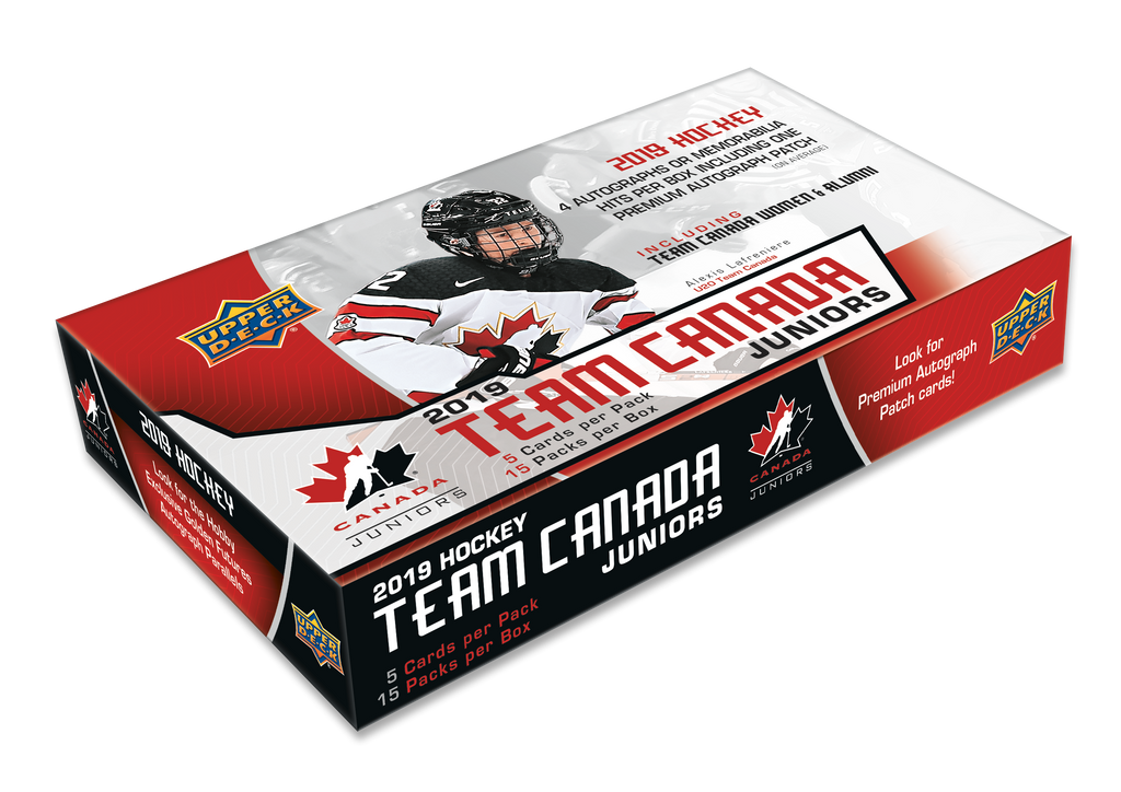 2019-20 Upper Deck Team Canada Juniors Hockey Hobby Box