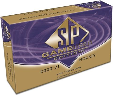 2020-21 SP Game Used Hockey Hobby Box