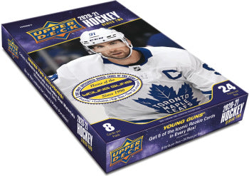 2020-21 Upper Deck Series 2 Hockey Hobby Box