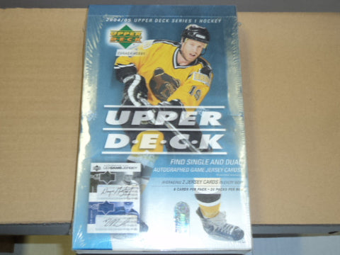 2004-05 Upper Deck Series 1 Hockey Hobby Box
