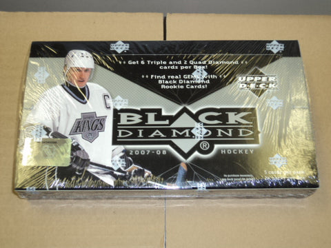 2007-08 UD Black Diamond Hockey Hobby Box