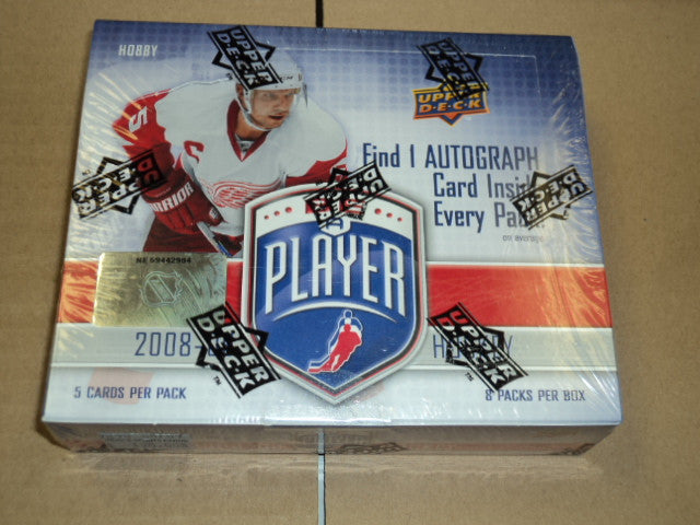 2008-09 UD Be A Player Hockey Hobby Box