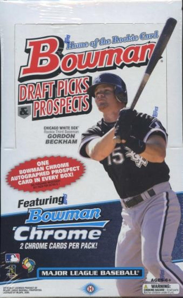 2009 Bowman Draft Picks Prospects Baseball Hobby Box Mike Trout Rookie Auto