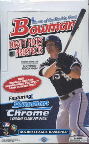 2009 Bowman Draft Picks & Prospects Baseball Hobby Box (Mike Trout Rookie Auto)