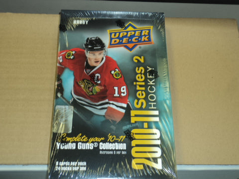2010-11 Upper Deck Series 2 Hockey Hobby Box