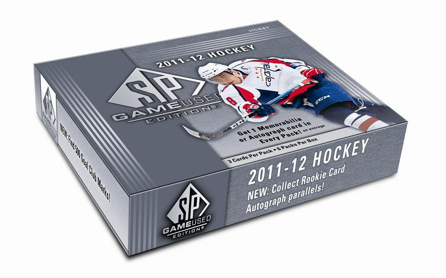 2011-12 SP Game Used Hockey Hobby Box