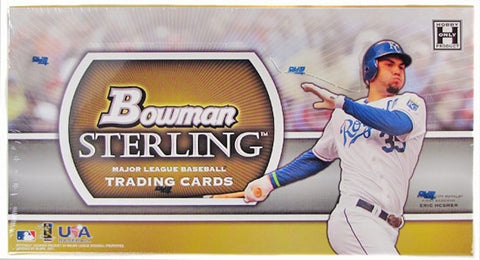 2011 BOWMAN STERLING BASEBALL HOBBY BOX - EXTREMELY RARE FIND!!!