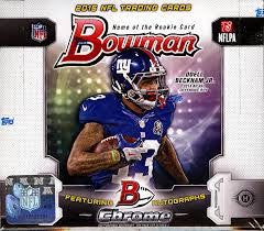 2015 Bowman Football Hobby Jumbo Box