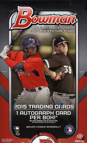 2015 Bowman Hobby Baseball Box