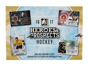 2016-17 Leaf In The Game ITG Heroes & Prospects Hockey Hobby Box