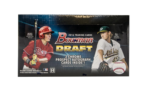 2016 Bowman Draft Baseball Jumbo Hobby Box