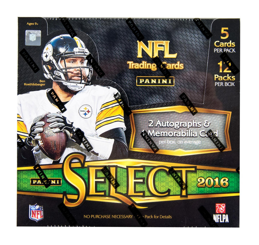 2016 Panini Select Football Hobby Box – Wests Sports Cards