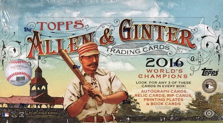 2016 Topps Allen & Ginter Baseball Hobby Box