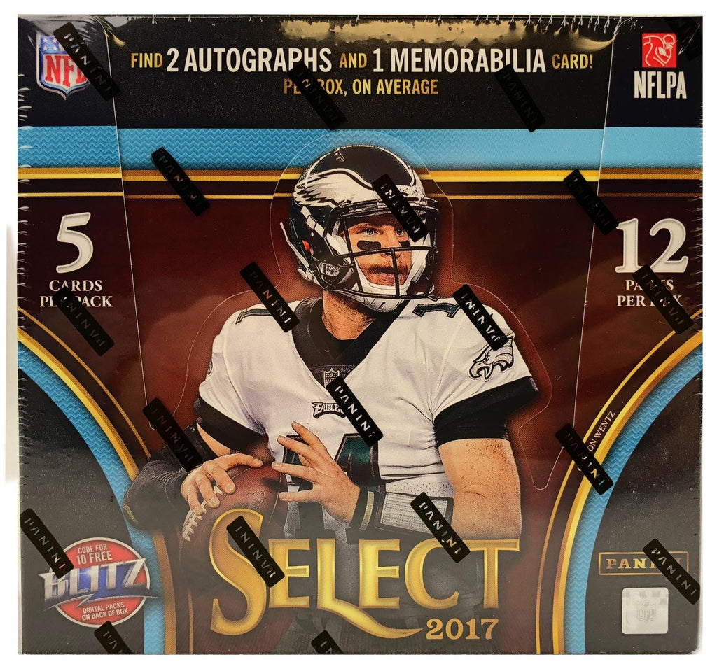 2017 Panini Select Football Hobby Box Wests Sports Cards