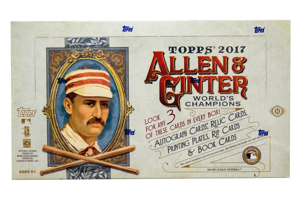 2017 Topps Allen & Ginter Baseball Hobby Box