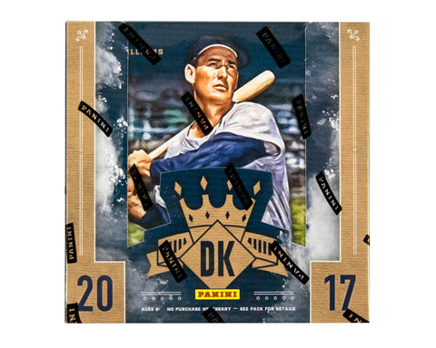 2017 Panini Diamond Kings Hobby Baseball Box