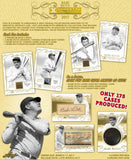 2017 Leaf Babe Ruth Immortal Collection Baseball Hobby Box
