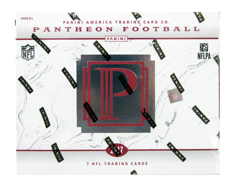 2017 Panini Pantheon Football Hobby Box