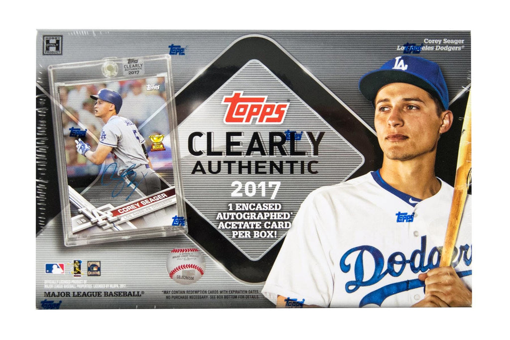 2017 Topps Clearly Authentic Baseball Hobby Box