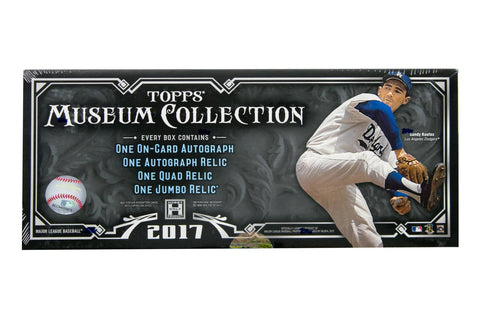 2017 Topps Museum Collection Baseball Hobby Box