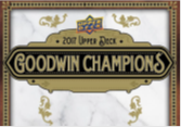 2017 Upper Deck Goodwin Champions Hobby Box
