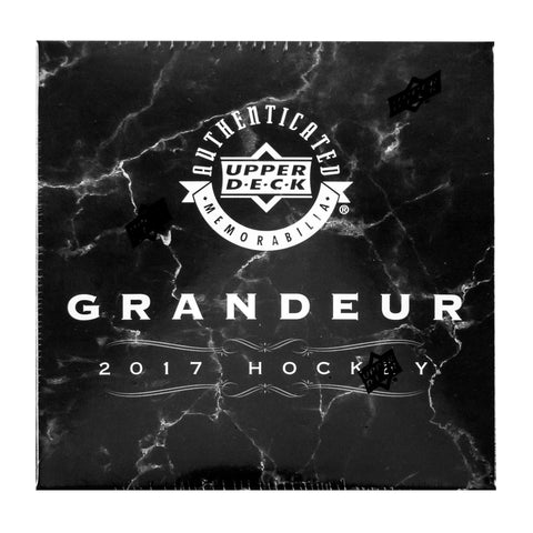 2016-17 Upper Deck Grandeur Hockey Coin Collection Box