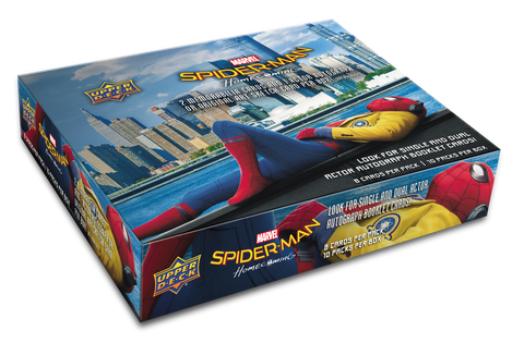 2017 UD Marvel Spider-Man Homecoming Trading Cards Hobby Box