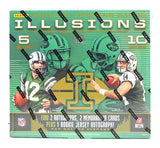 2018 Panini Illusions Football Hobby Box (receive 2 Kickoff Bonus Packs/box)