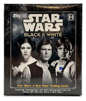 2018 Topps Star Wars: A New Hope Black & White Hobby Trading Cards Box