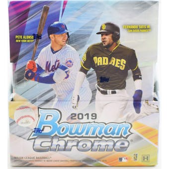 Group Break#960- 6 Box BASEBALL 2019 Bowman Chrome Hobby ++ DOUBLE UP TR + WIN $75 GB CREDIT + EXTRA BONUS