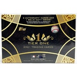 2021 Topps Tier One Baseball Hobby Box